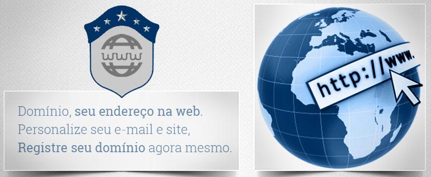 Registro de Domínio para Endereço do Site na Web